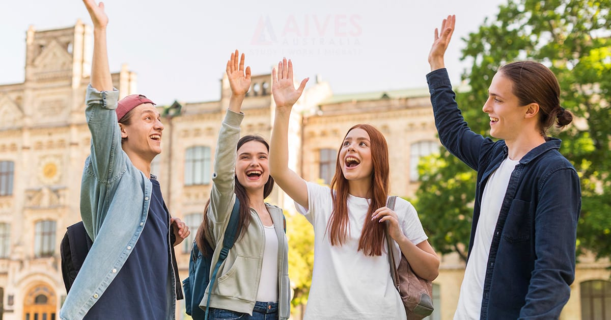 students in australia