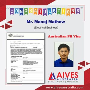 Congratz Manoj