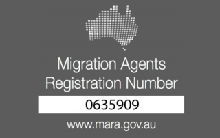 Migration Agent Registration Number