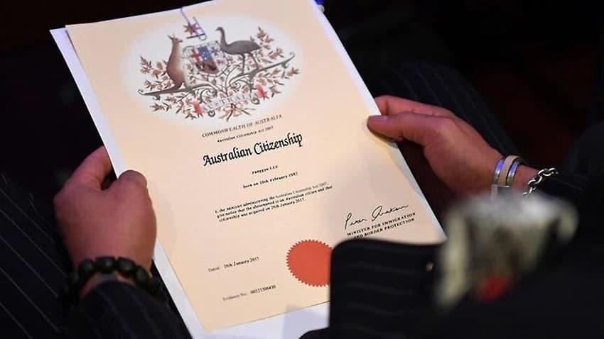Australian citizenship cancelled
